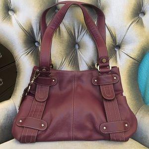 Tiganello leather shoulder bag